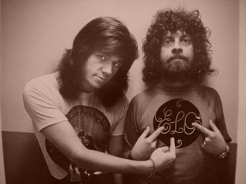 Bev Bevan and Jeff Lynne of ELO