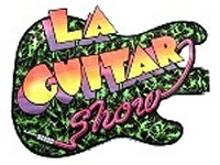 LA Guitar Show T Shirt design